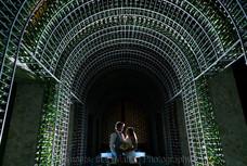 Royalton Riviera Cancun Wine Wall