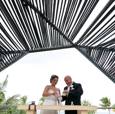 Royalton Riviera Cancun Wedding. Ashley & Robie