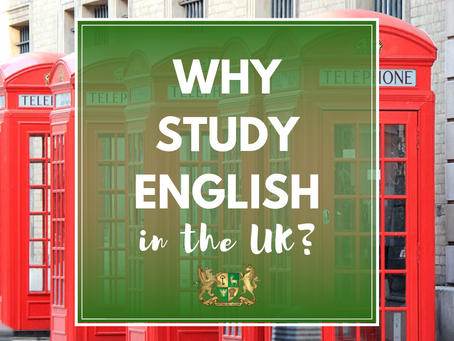 Why study English in the UK?