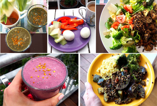 Food diary: Anni S personal trainer & Diet Coach