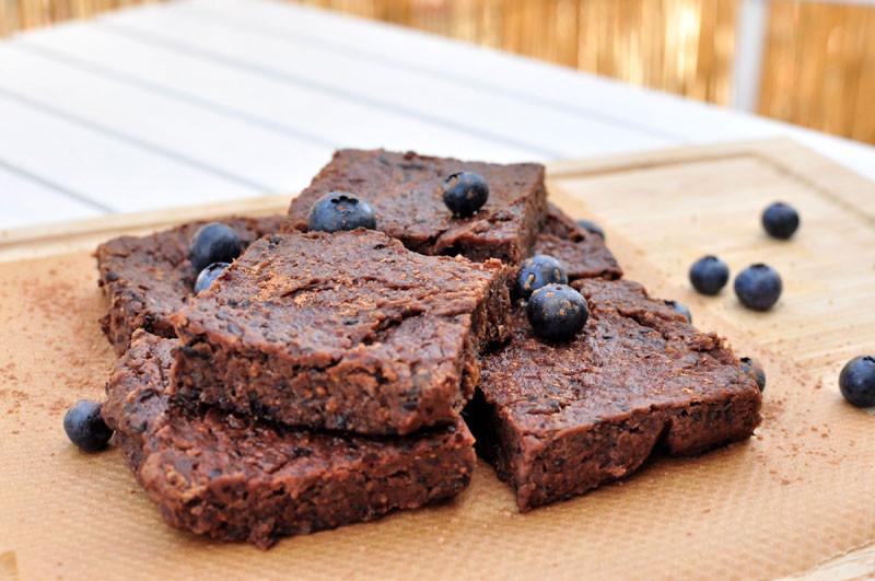 Sugar-free brownies - sugar-free september