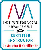 Certified Singing teacher