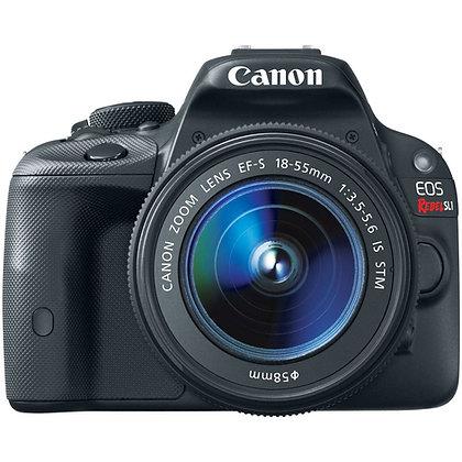 Canon EOS Rebel SL1 Digital SLR Con Lente 18-55mm