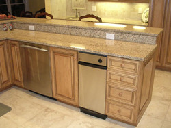 Maple Kitchen island