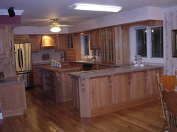 Custom Oak Kitchen