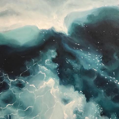 Ocean spray $290 Oil on board