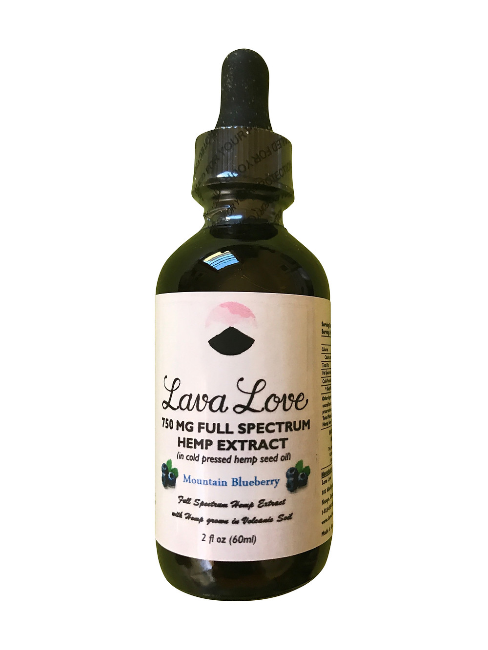 Lava Love Full Spectrum CBD Oil