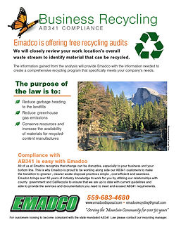 AB341 Compliance - Business Recycling