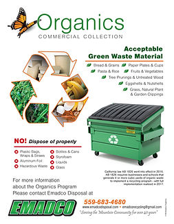 Organics Commercial Collection