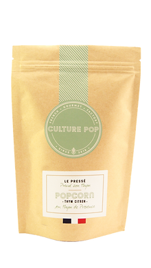 Popcorn made in france culture pop au thym citron