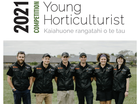 Young Horticulturist Competition 2021 - Date Changes