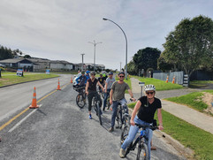 Stopped at Omokoroa Road Works 7-5-21