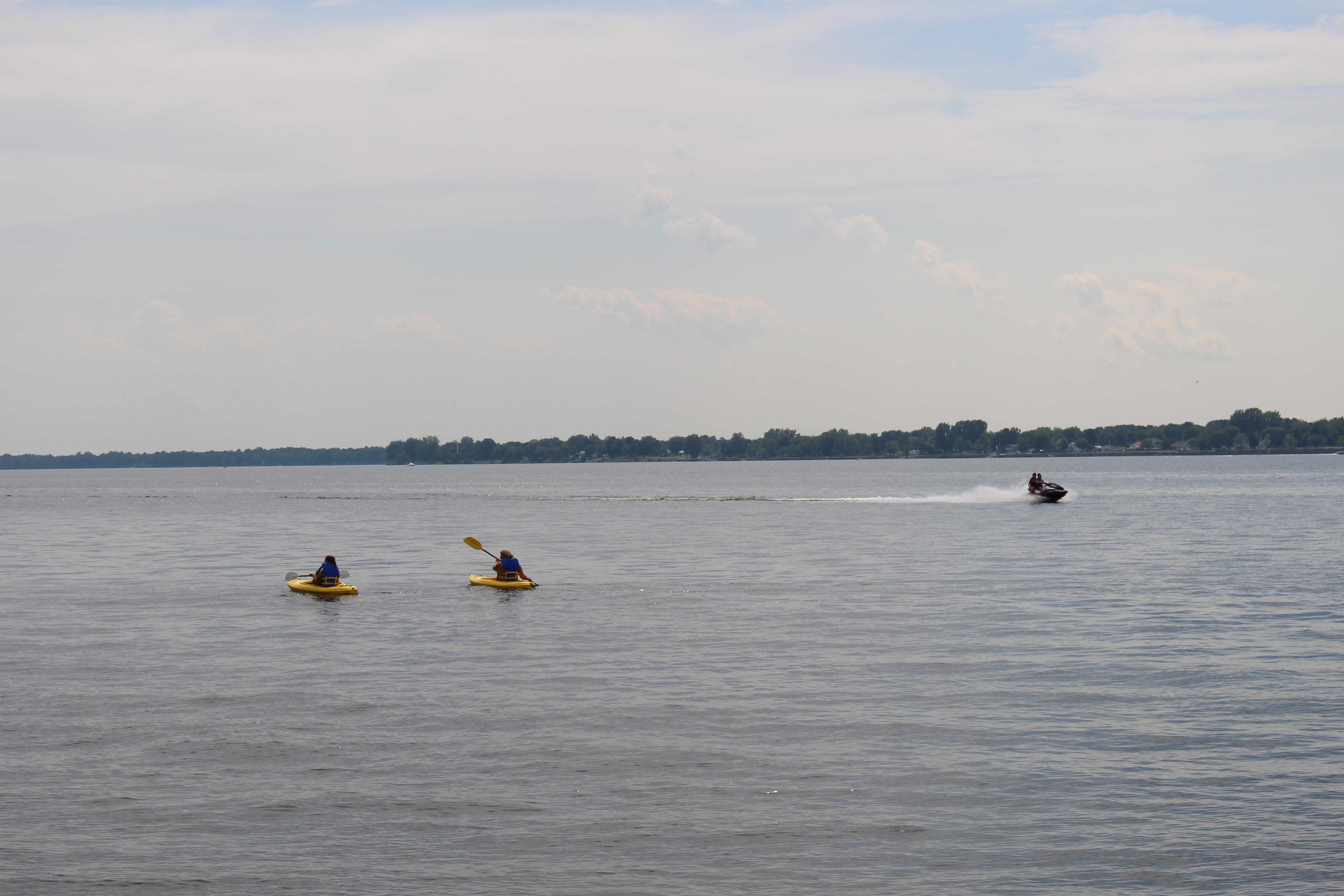 Randonnée de kayak