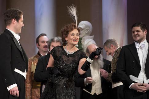 Operette, Sopran, Die lustige Witwe, Hanna Glawari
