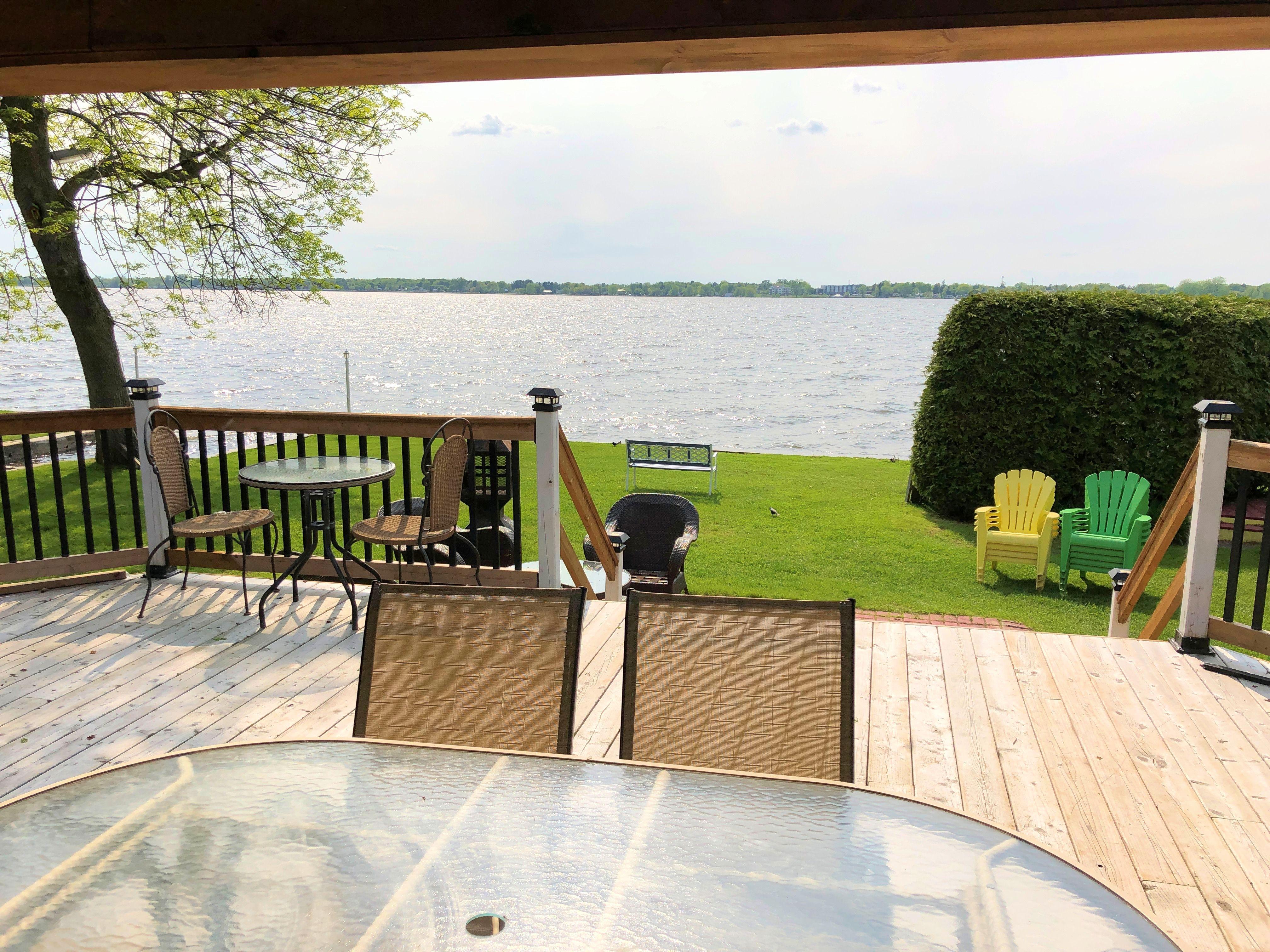 La galerie (Vue sur le lac)