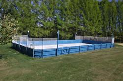 Patinoire de dek-hockey