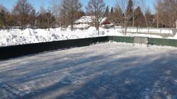 Patinoire de hockey
