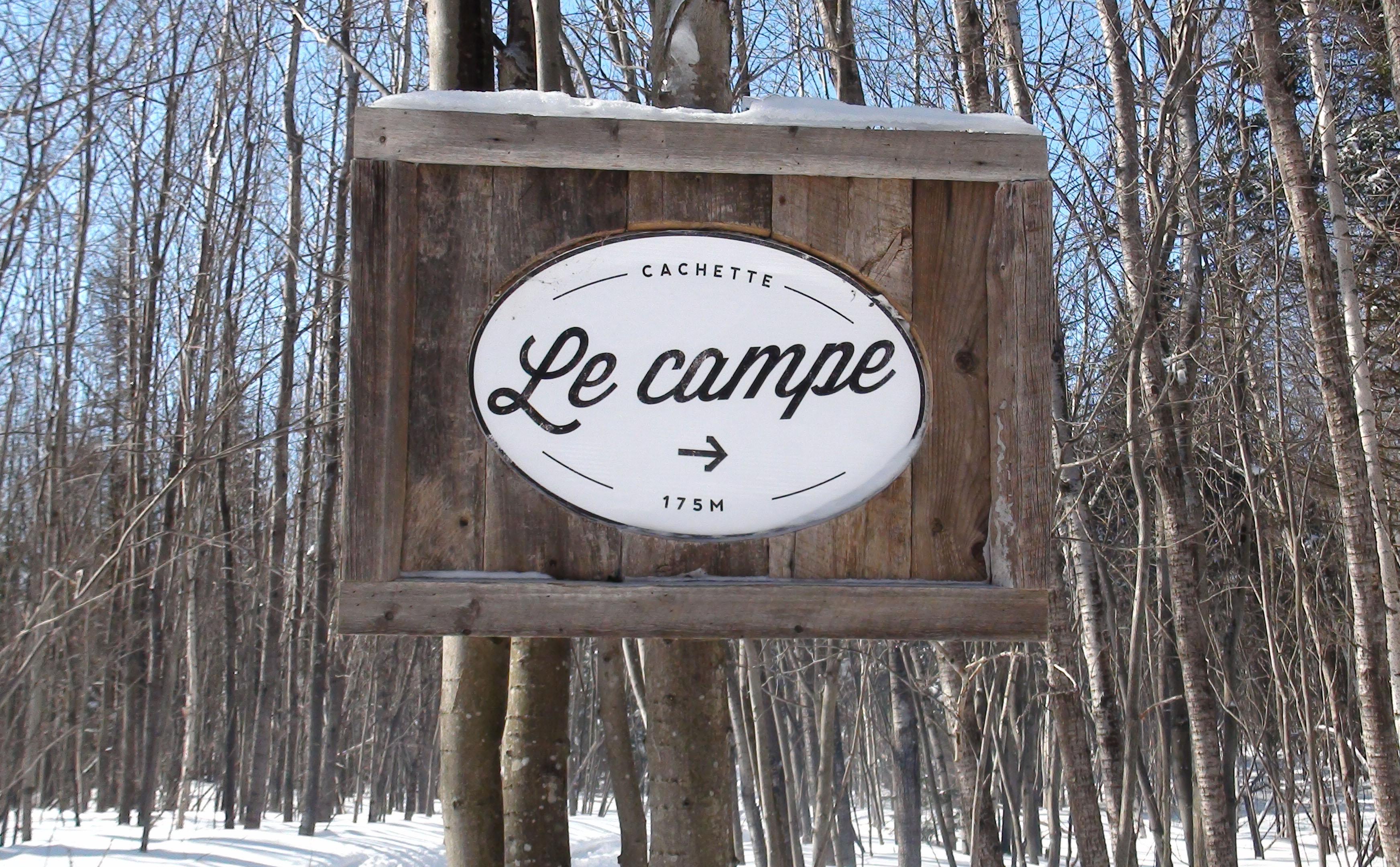 Indication pour se rendre au Campe