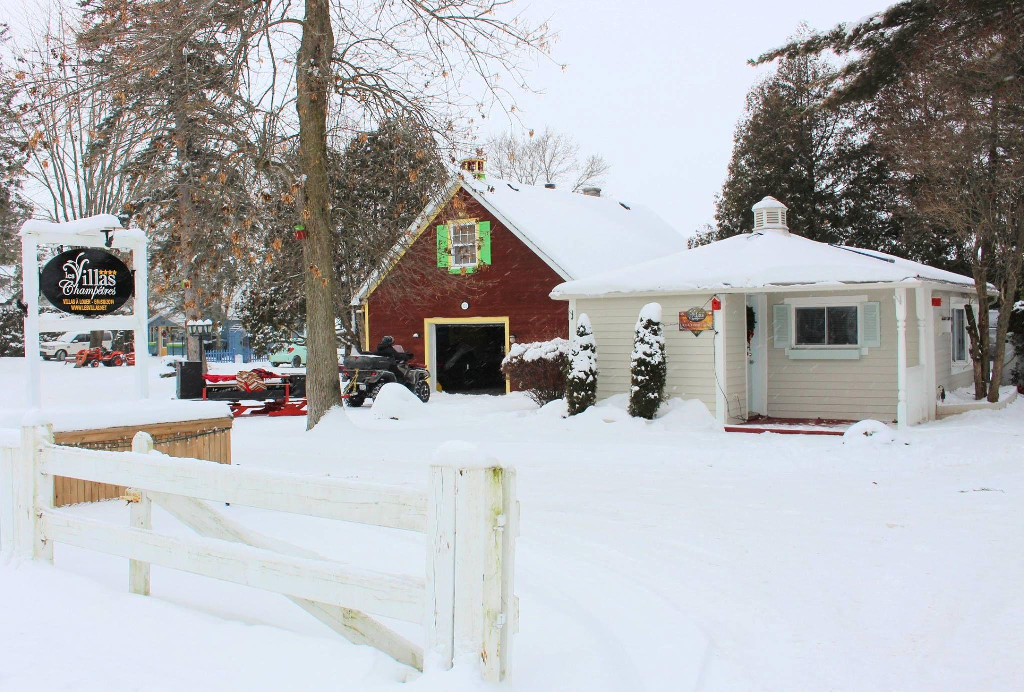 L'hiver au Champlain
