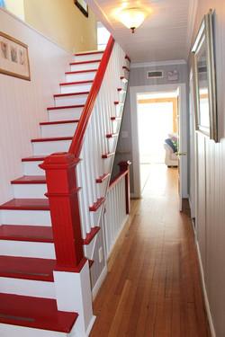 Passage et escaliers