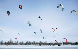 Ski en kite