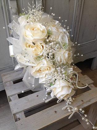 Silk Shower Bridal Bouquet