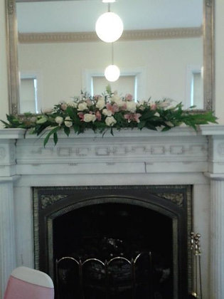 Fireplace Arrangement or Top Table Arrangement