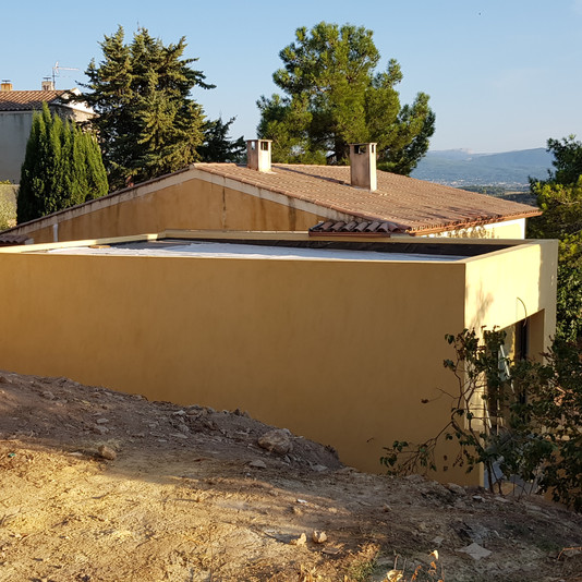 extension, surélévation de 47 m²
