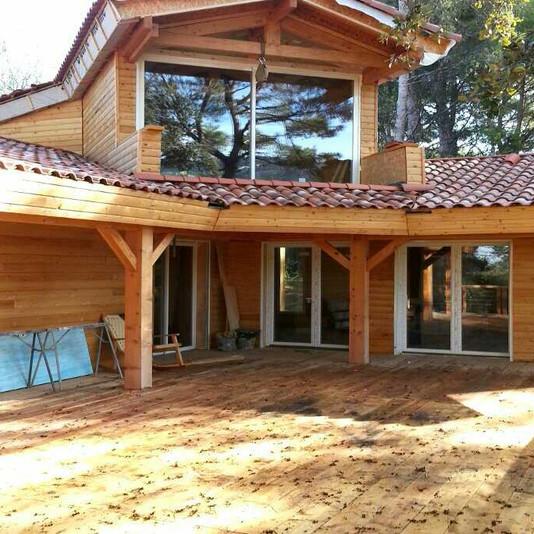 revêtement extérieur - sud maisons bois