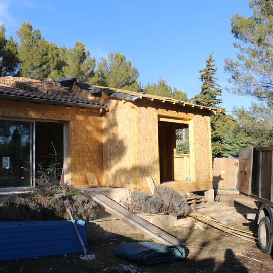maison de 105 m² en ossature bois