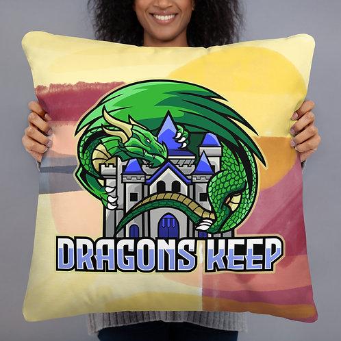 Sunset Pillow (Mascot Logo) - Soft & Smooth Texture