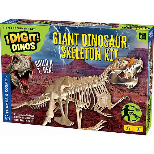 Dig it! Giant Dinosaur Skeleton Kit | Thames and Kosmos
