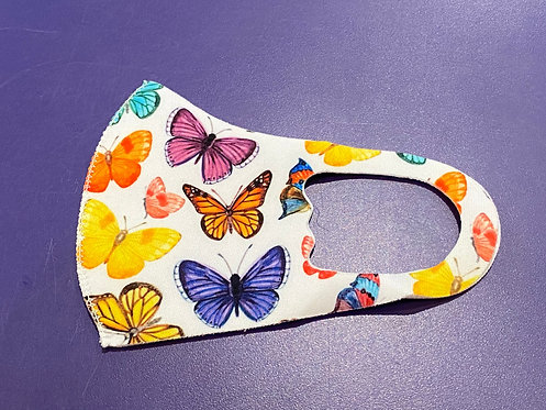 Butterfly Youth Face Mask