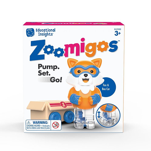Zoomigos Fox with Box Zoomer - Toddler Toy