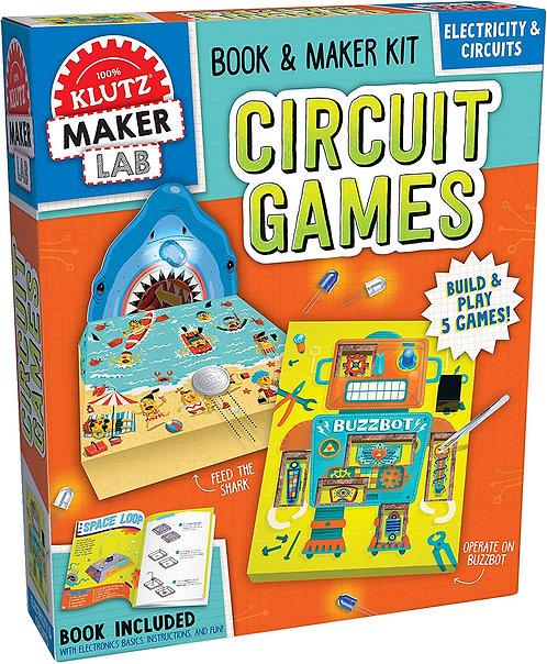 Circuit Games - Klutz Maker Lab