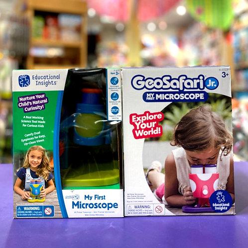 GeoSafari Jr. My First Microscope Pink/Purple & Blue/Green