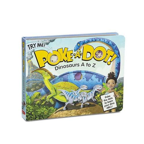 Poke-A-Dot: Dinosaurs A to Z