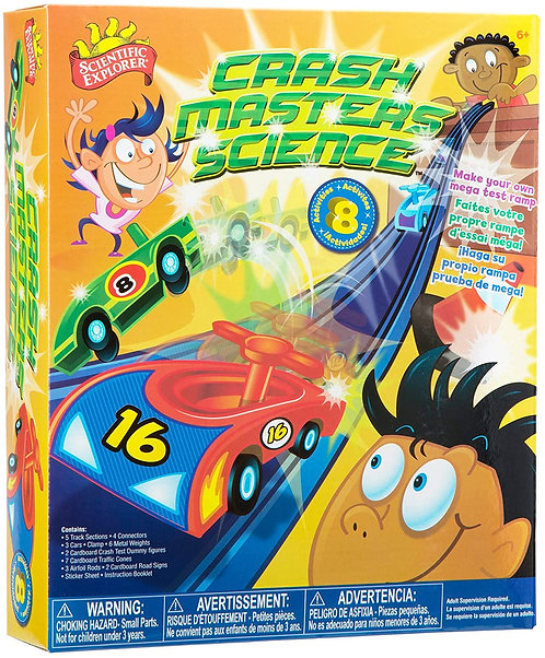Crash Masters Science | Scientific Explorer