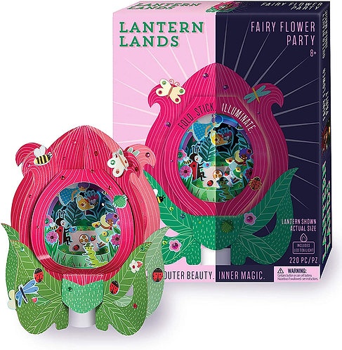 Lantern Lands - Fairy Flower Party | Bright Stripes