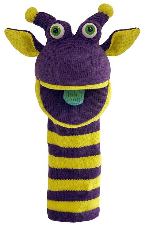 Rupert Sockette Knitt Puppet