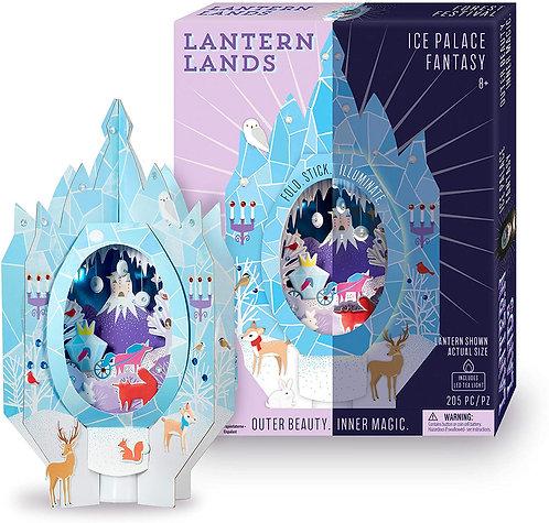Lantern Lands Ice Palace Fantasy | Bright Stripes