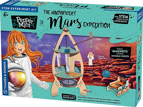 Pepper Mint - The Magnificent Mars Expedition
