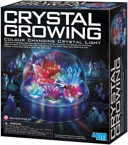 Crystal Growing - Color Changing Crystal Light
