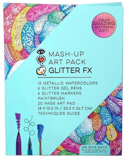 Mash Up Art Pack Glitter FX | Bright Stripes