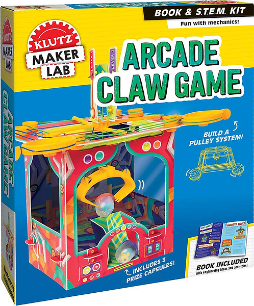 Arcade Claw Game - Klutz Maker Lab