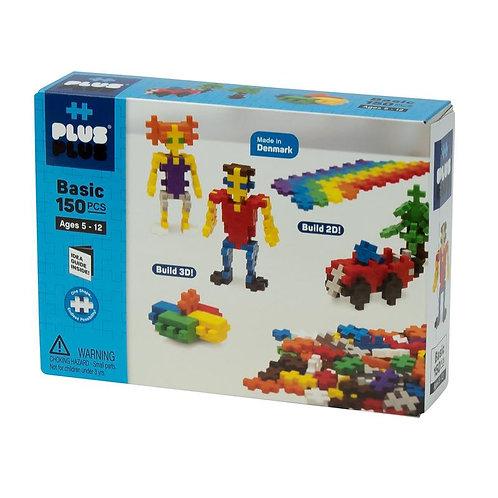 150 Piece Building Set Basic and Pastel | Plus Plus