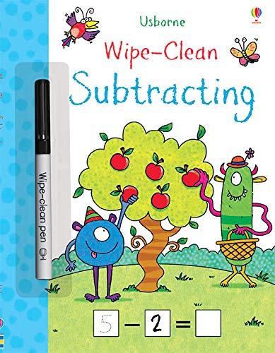 Wipe-Clean Subtracting | Usborne