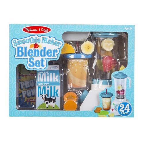Wooden Smoothie Maker Blender Set