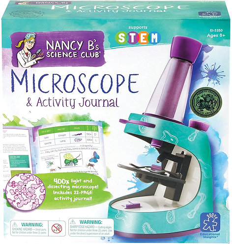 Nancy B's Microscope and Activity Journal | Educational Insights