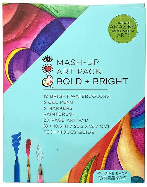 Mash Up Art Pack Bold + Bright | Bright Stripes